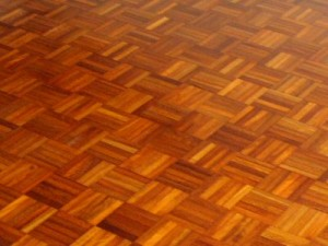 Wooden Floor Refurbishment - All Finished