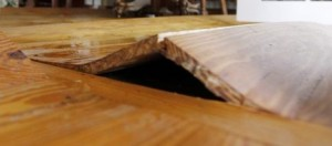 Picture of Flood Damaged Wooden Floor